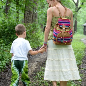 Dreamer backpack from Minga Fair Trade Imports $55.